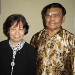Dr. Chris and Saria Marantika