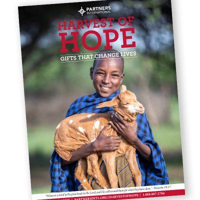 Printed Harvest of Hope Catalog 1