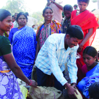Relief Distribution during Persecution