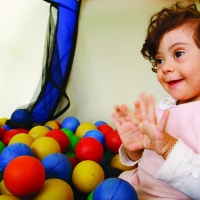 therapy for a disabled child