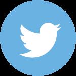 twitter logo round