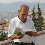 ALBE man reading the Berber Scriptures 20131