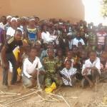 GHCO Newly planted Songo Church.Feb 2015