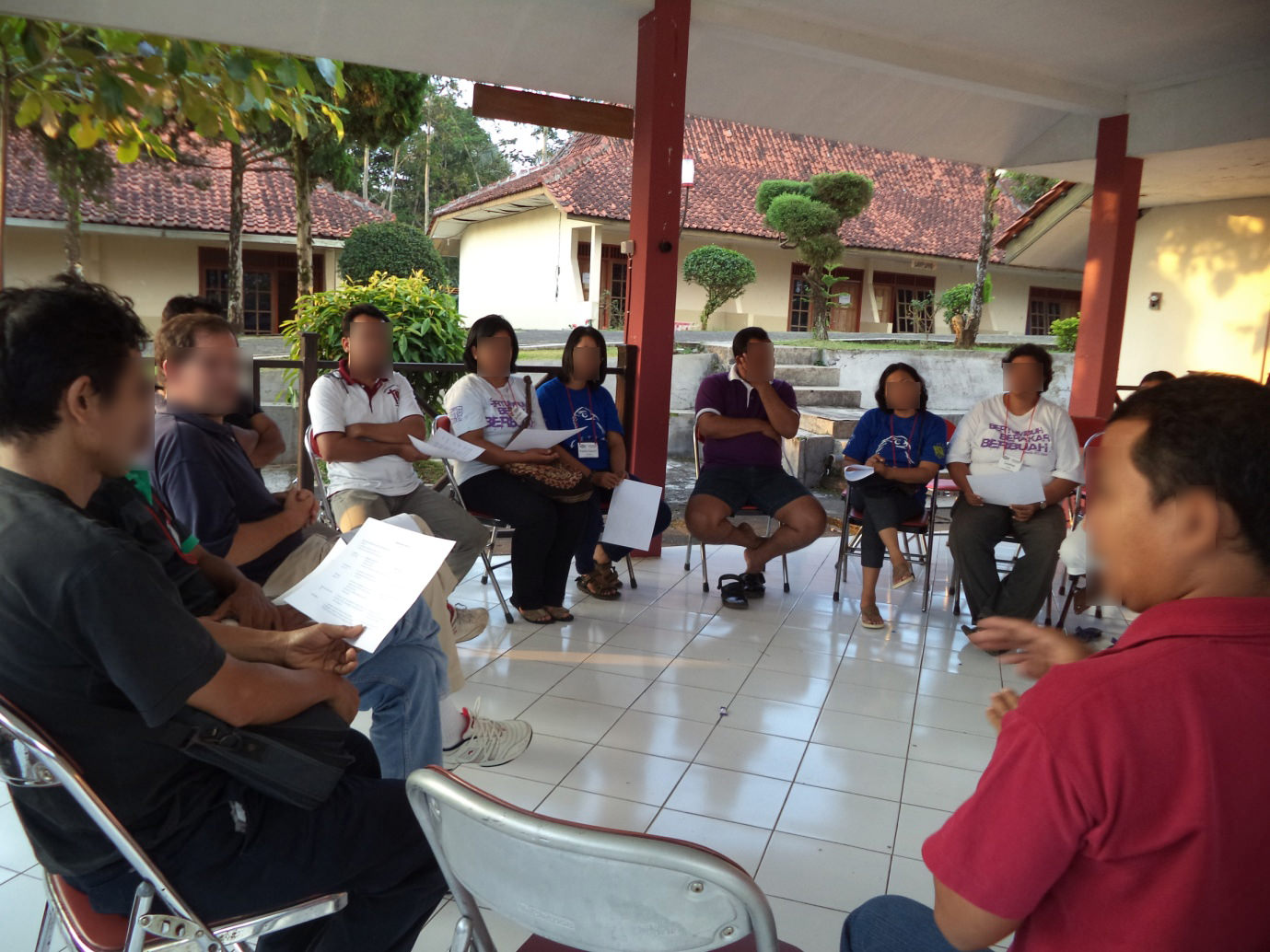 IOIC-Orientation for pastors coordinators of TYI brances.March 2015