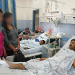 ISSG Visiting the sick and wounded.blurred. May 2015