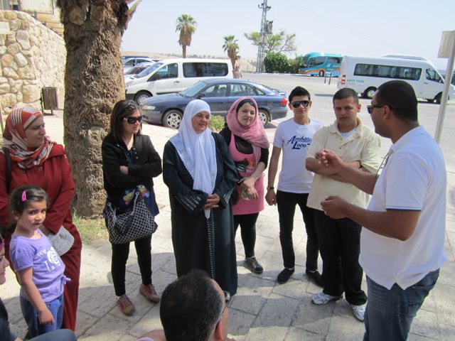 ISSG-archaeological trip for Muslim families 5-2013