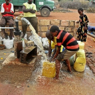 KESM Water project Sept 2014