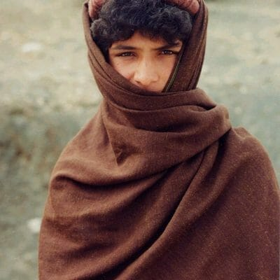 North Africa young boy in traditional dress