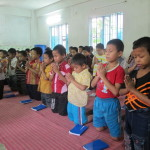 BABF Boys at evening prayer 2013