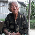 CHOEJK ONE OF 40 WIDOWS WHO ASKS GOD TO BLESS HER SUPPORTERS.