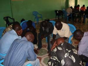 SEIS-4P Prayer Meeting at Diomkhel