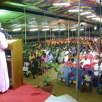 4.  The Bishop preaching the Gospel