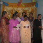 INOI Church Mobilization training Bangalore women present a special song 2008