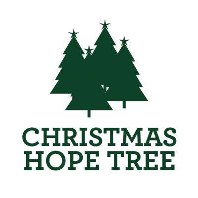 Chritmas Hope Tree Logos Green Logo Square