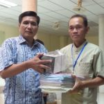 CBCR Church planter Saron Phe Received Bibles and Training Materials for his province.Aug 2016