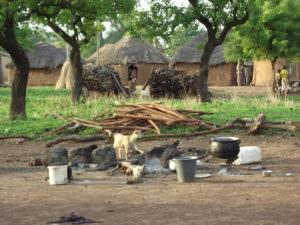 Village in Northern Ghana