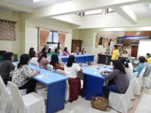 IOCS-Womens Leadership Training blurred.Oct 2016