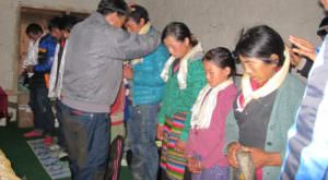 prayer February 2017 Update NPRH 9 people accepted the Lord Jesus through the widow programs