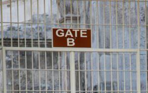 Jordan gate and bars