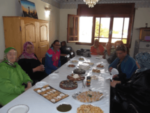 SPPM March 2017 Update group of women celebrating life at table