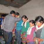 April 2017 Update NPRH 9 people accepted the Lord Jesus through the widow programs blessing
