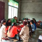 Pan is giving training in women ministry