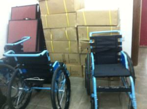 JOEP June 2017 Update Wheel Chairs bring gratitude
