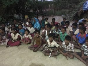 Reaching Villages through Songs and Skits