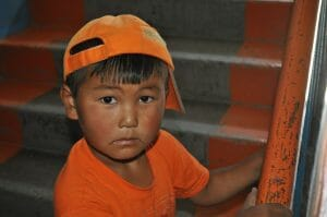 Little Boy Central Asia Match