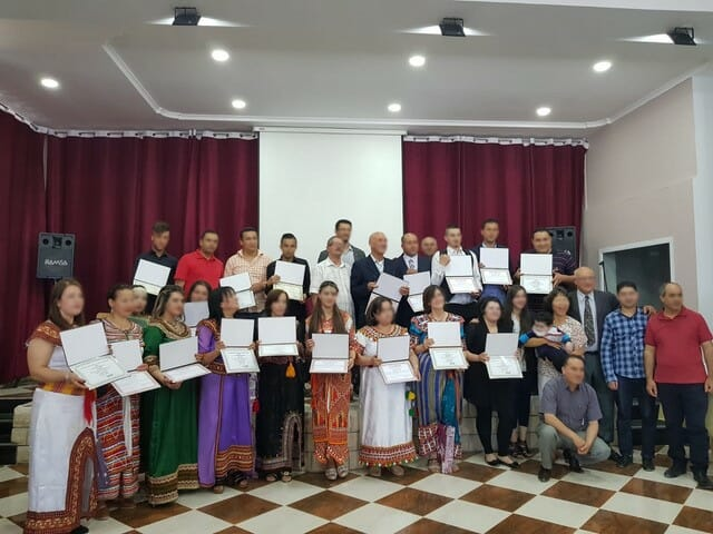 New Graduates Blessed by the Timothy School