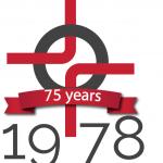 75th Anniversary Logo Year 1