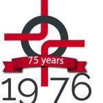 75th Anniversary Logo Year