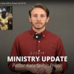 Pastor Kato Second Video Update