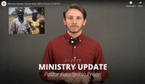 Pastor Kato Second Video Update