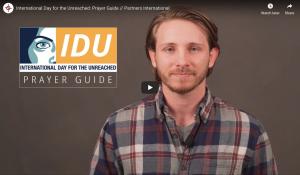 Your IDU Prayer Guide