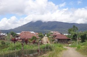 Typical Village in Southern Sumatera