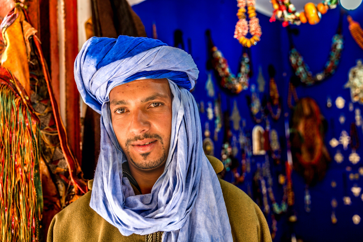 Young Man North Africa